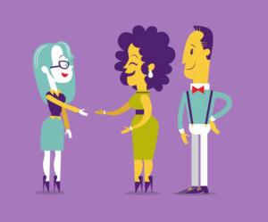 Illustration Handshake