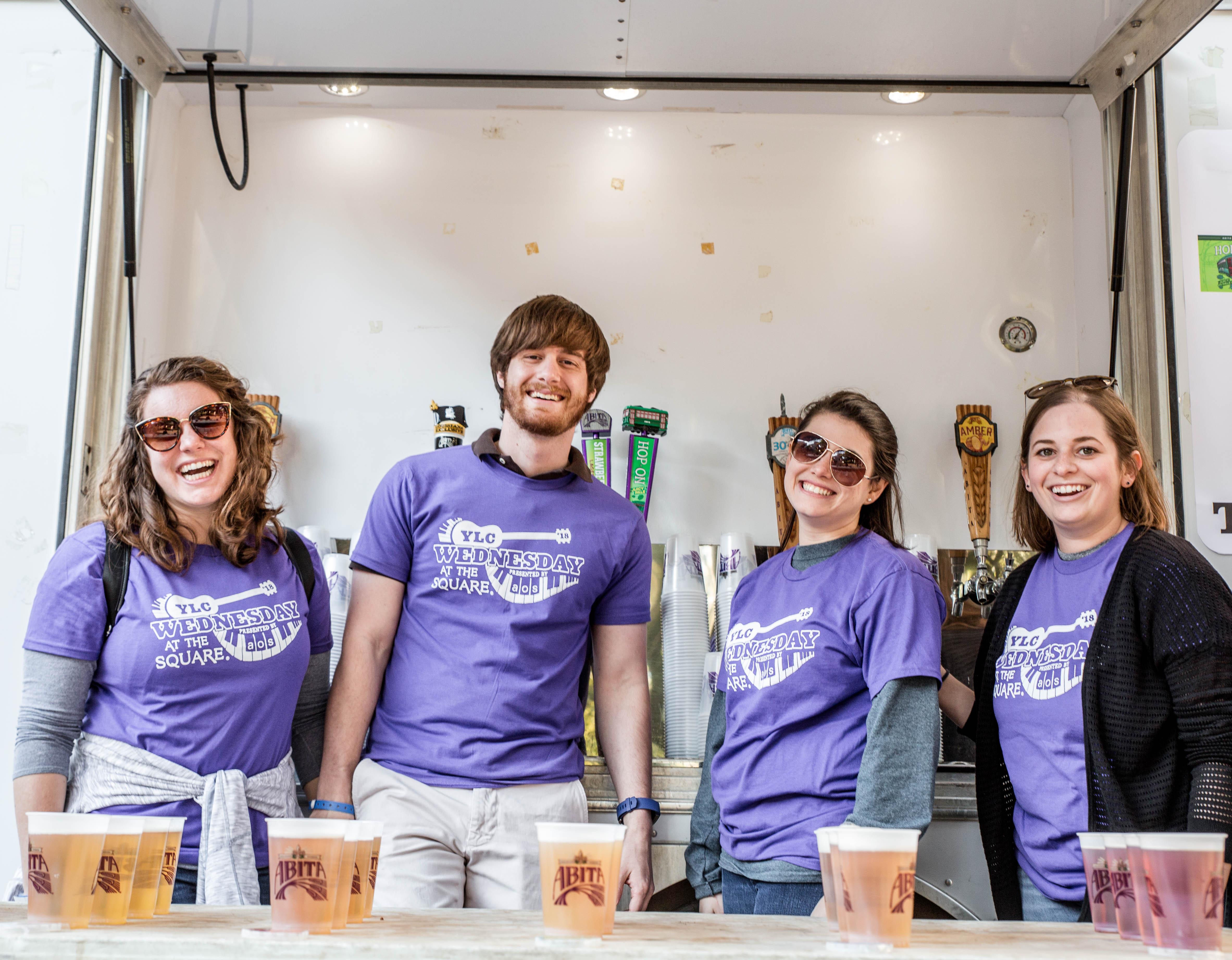 WATS beer volunteers