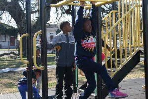 RECreate kids at playground